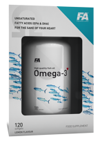 FITNESS AUTHORITY Omega 3 Lemon 120 kaps